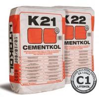 Litokol Cementkol K21-K22 Клей на цементной основе