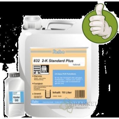 Forbo 832 2K Standart Plus Двухкомпонентный водный лак